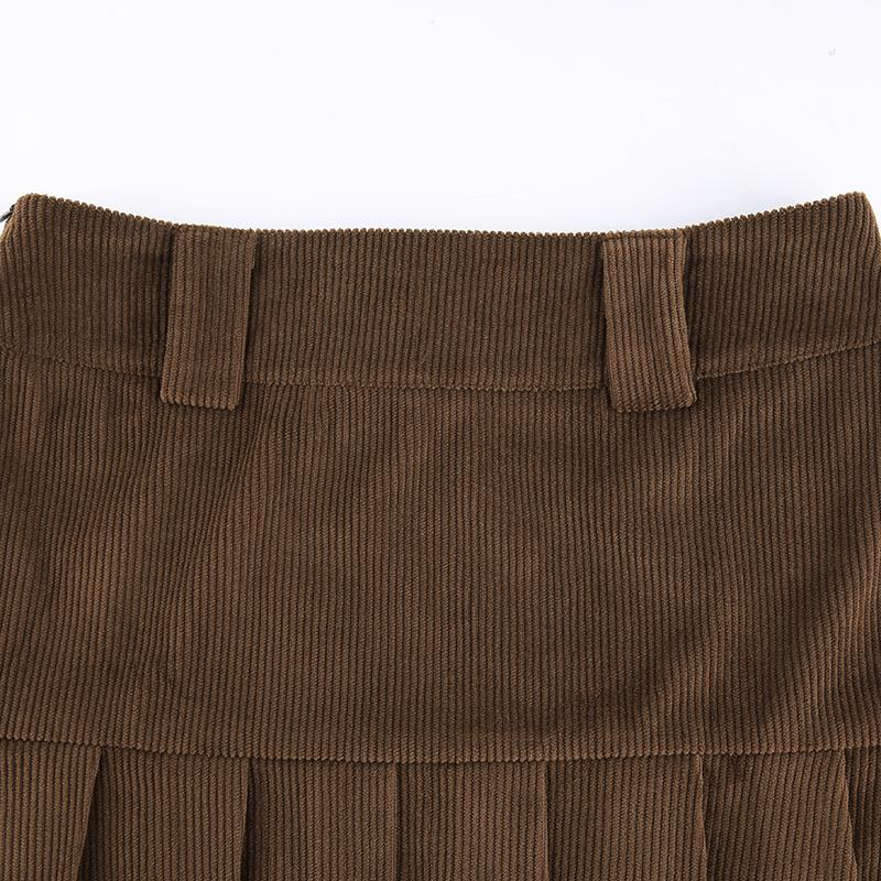 Corduroy Skirt (3)