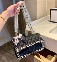 Luxury Designer Lingge Caviar Shoulder Bag 2020 New Hot Ladi...