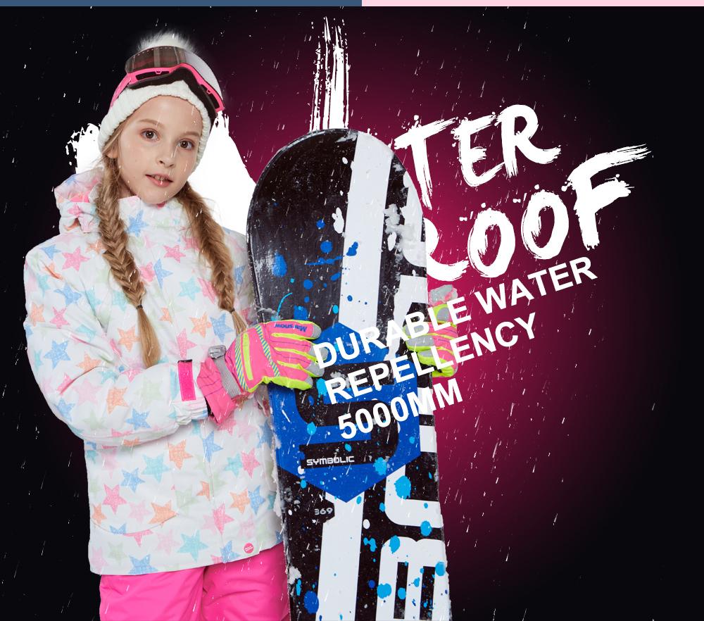 girls ski coat