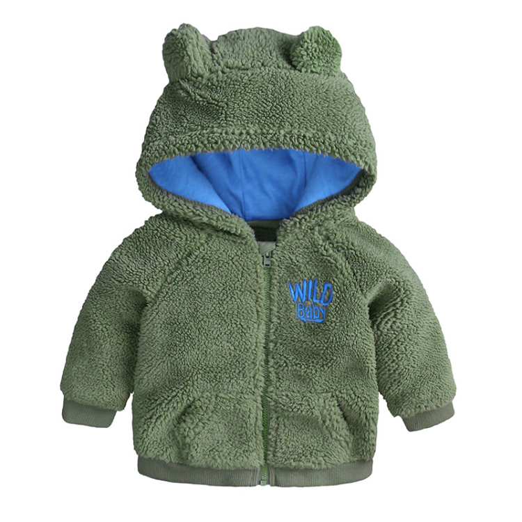 New Style Hooded Long Sleeve Warm Baby Clothes Bebe Coat Infant Clothing Toddler boys outfits Girls clothes (1)