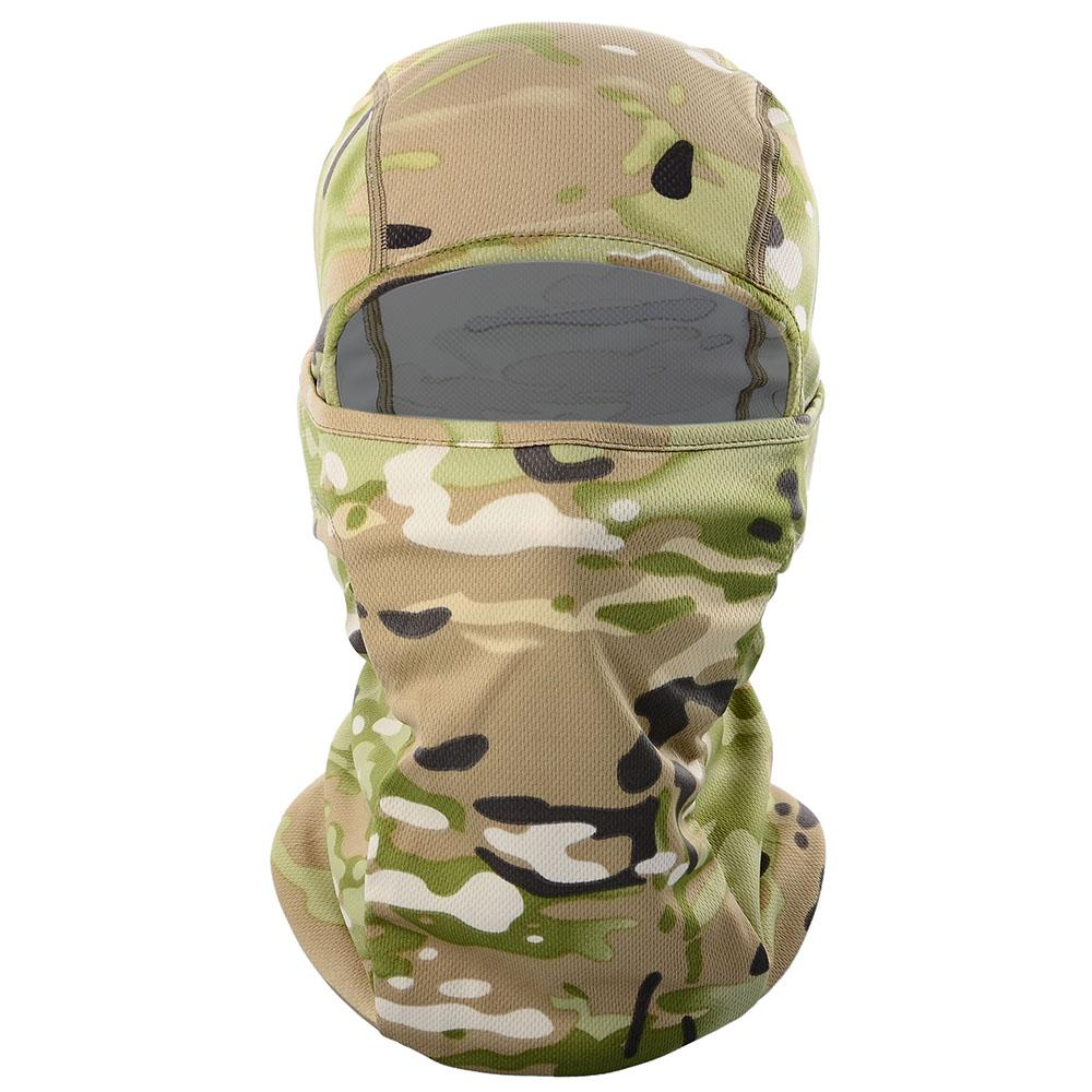 Multicam Cp Camouflage Balaclava Full Face Scarf Wargame Cycling Hunting Army Bike Military Helmet Liner Tactical Airsoft Cap wmtSGD