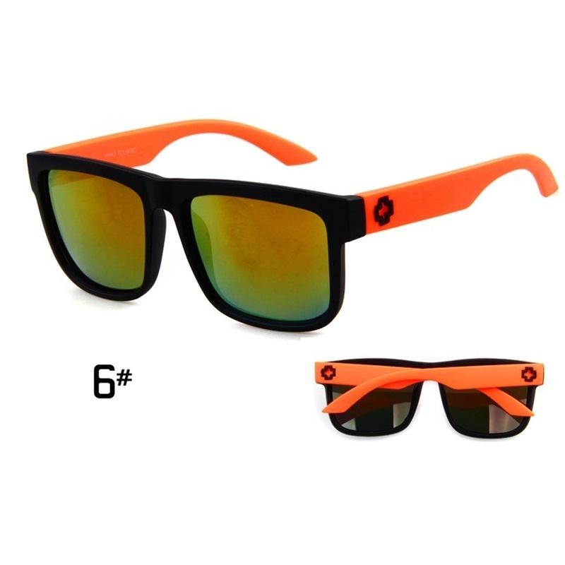 Sunglasses Men Sport Sunglasses Men Driving Mirror Coating Points Black Frame Eyewear Male Sun Glasses UV400 (7)