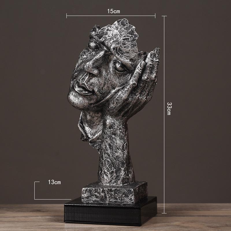 Resin Silence Figurines (19)