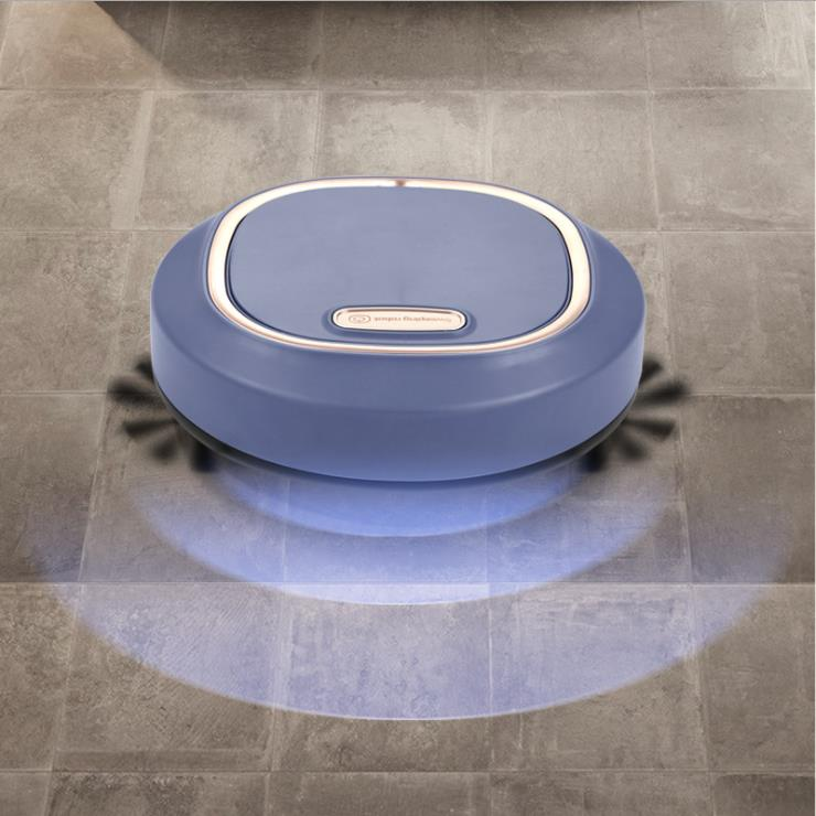 KD25 1200mAh Smart Robot Sweeping Vacuum Cleaner Small Household Appliances Cleaning Machine Automatic Floor Vacuum Sweeper Anti Collision