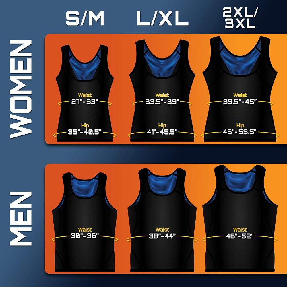 CXZD Sweat Shaper Vest for Men Women Slimming Belt Belly Slimming Vest Body Shaper Fat Burning Shaperwear Waist Traine Waist Sweat Corset (6)