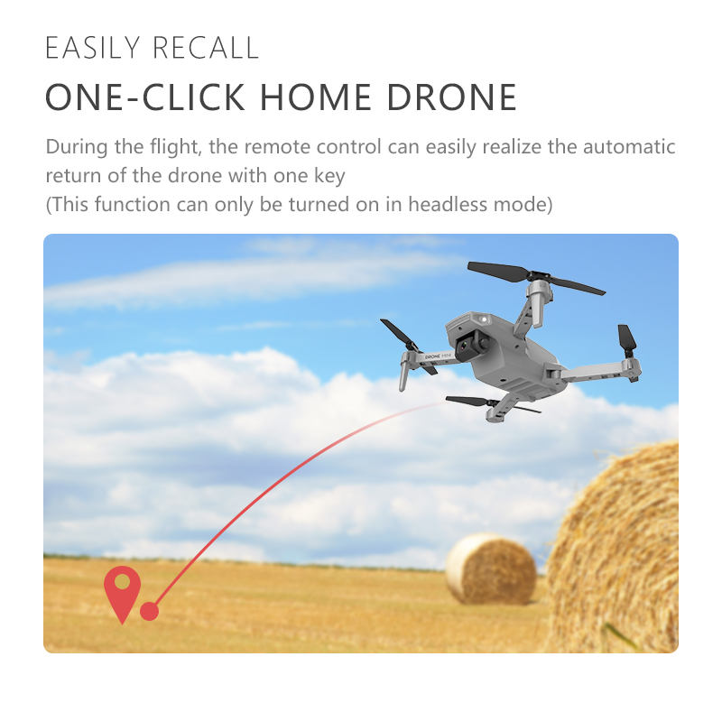 2021 NEW E88 Rc Mini drone 4k HD Drone With Dual camera drone FPV WiFi real-time transmission Foldable Quadcopter RC Dron Toys