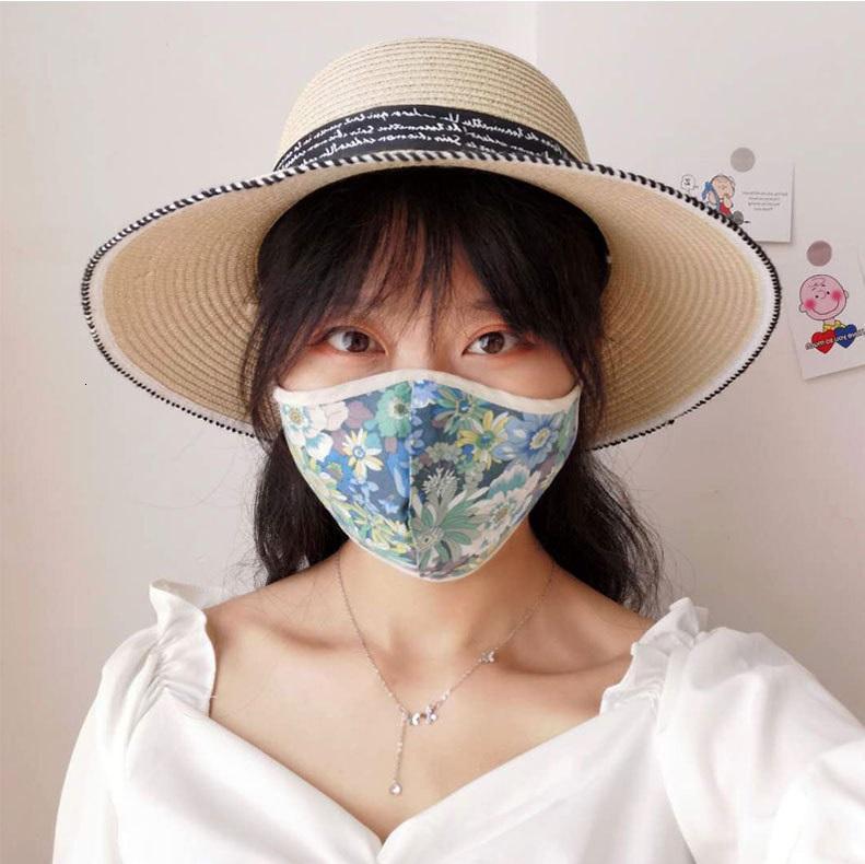 23 Style Design Face Mask Breathable Men And Women Mask Summer Shade Dustproof Breathable Tide Male Wash Mask adjustable Ear Buckle XD23569