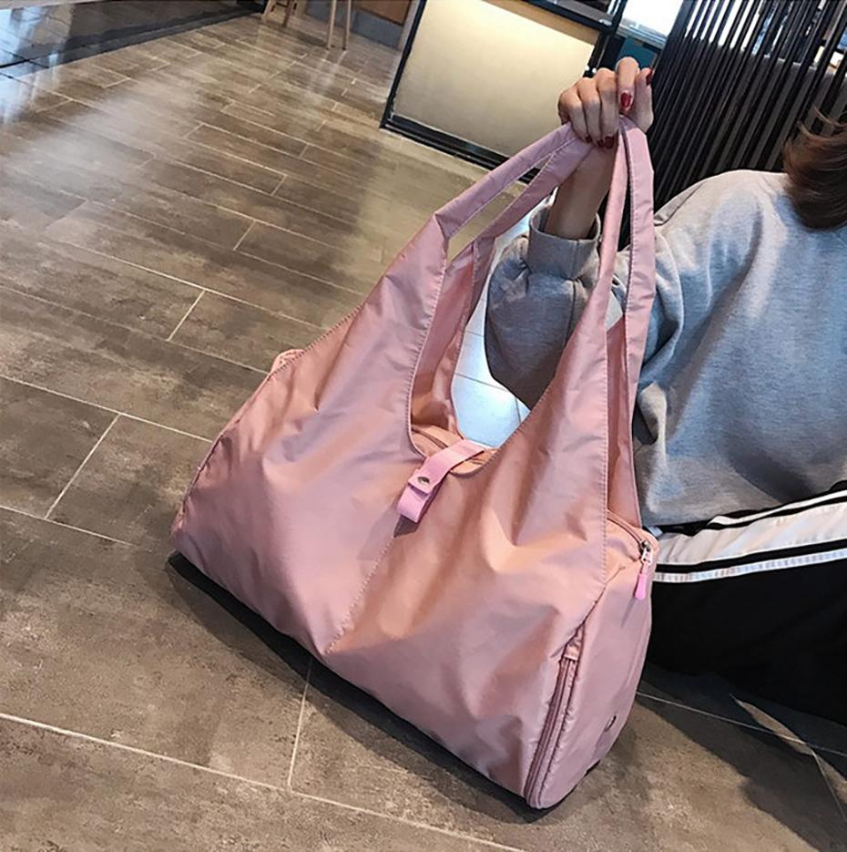 Waterproof Yoga Mat Bag Gym Fitness Bags for Women Men Training Sac De Sport Travel Gymtas Nylon Outdoor Sports Tas Sporttas102
