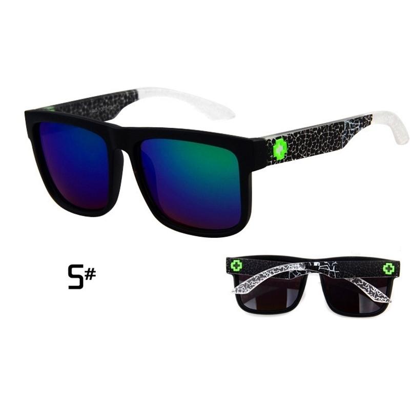 Sunglasses Men Sport Sunglasses Men Driving Mirror Coating Points Black Frame Eyewear Male Sun Glasses UV400 (6)
