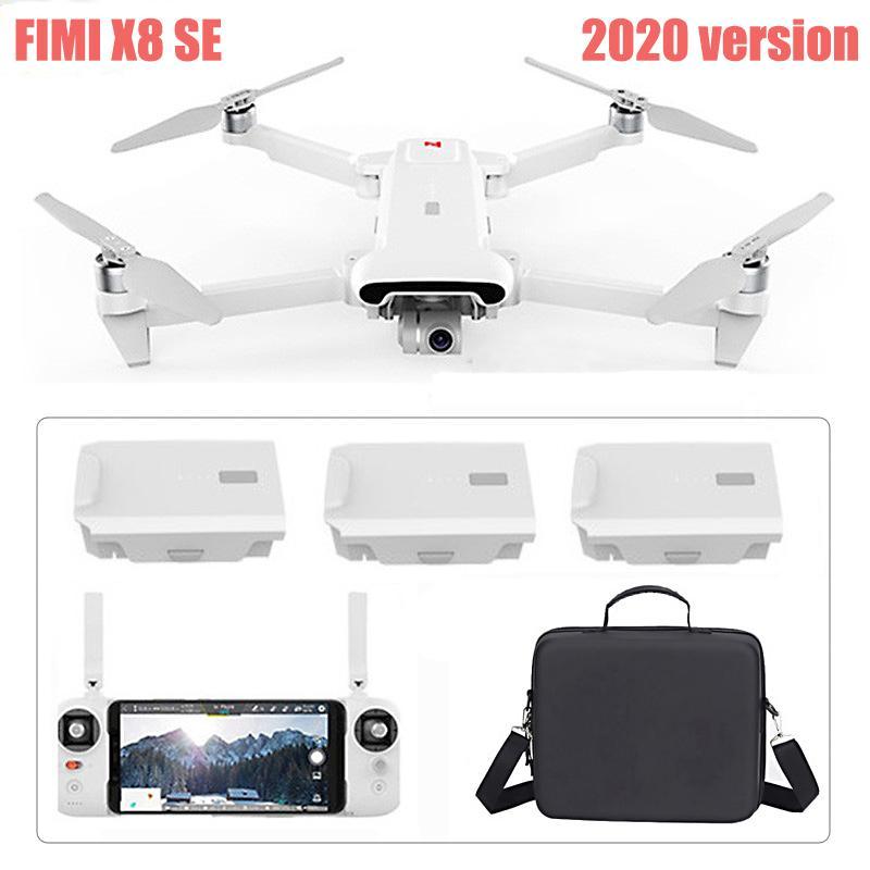 FIMI X8 SE 2020 drone 8KM FPV With 3-axis Gimbal 4K HD Camera GPS 35mins Flight Time FIMI X8 SE Drone Quadcopter RTF