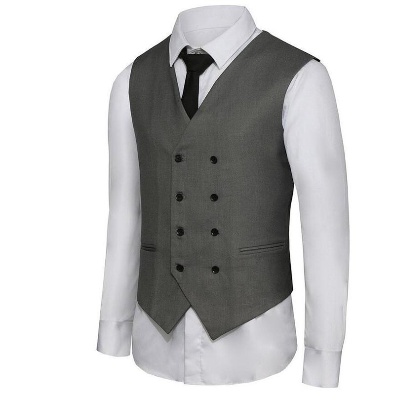 -suit-waistcoat-Men-s-Double-Breasted-Leisure-Business-Suit-Vest-Waistcoat-custom-Blue-grey-black (4)