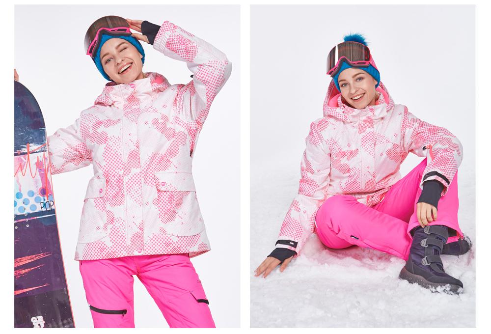 womens snowboard ski jacket