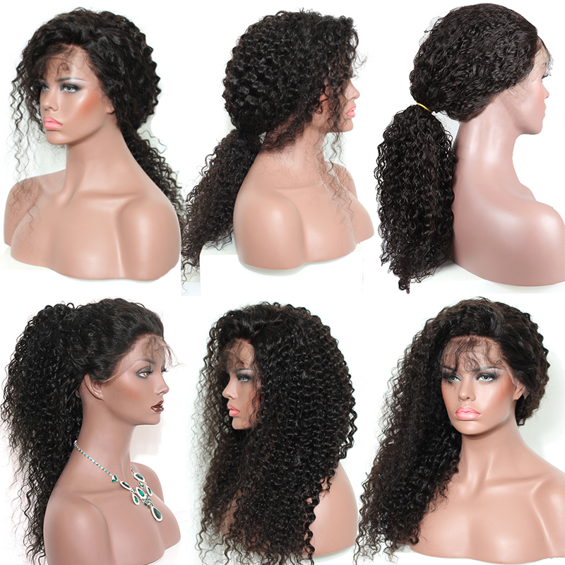 Deep-Curly-Lace-Front-Human-Hair-Wigs-250-Density-Brazilian-Bob-Lace-Frontal-Wig-With-Bangs