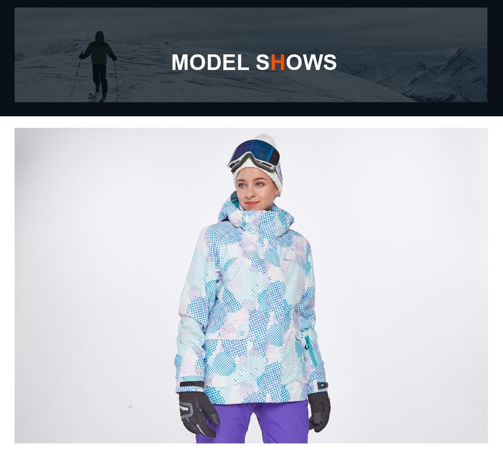 womens insulated ski jacket
