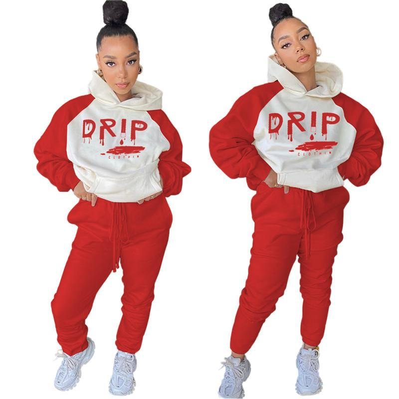 women clothes two piece set tracksuit shirt pants outfits long sleeve sportswear shirt trousers sweatsuit pullover tights sportswear klw5658