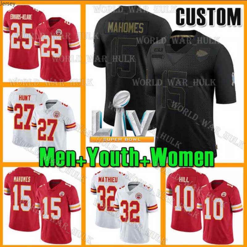15 Patrick Mahomes Jersey 87 Travis Kelce Kansas