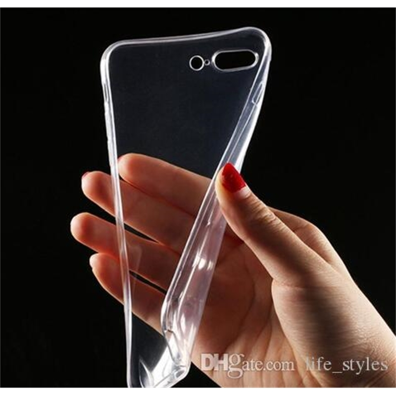 Ultra-Thin Soft TPU Phone Cases 0.3mm Transparent Clear For Iphone XS MAX XR 8 7Plus S10 S10 E S9