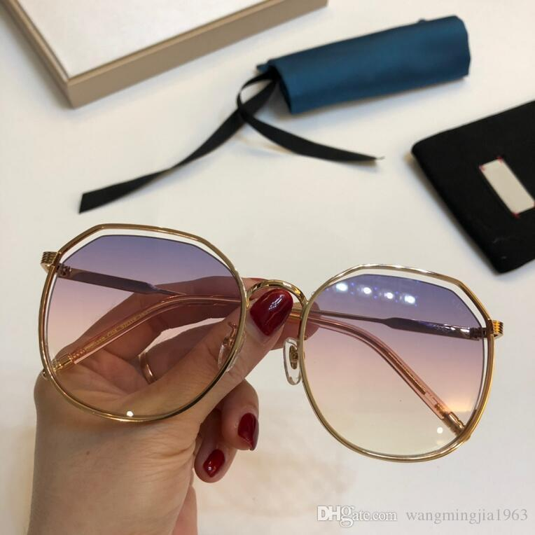 New top quality GG2218 mens sunglasses men sun glasses women sunglasses fashion style protects eyes Gafas de sol lunettes de soleil with box