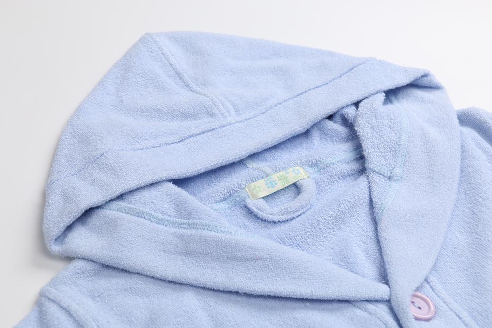 Children Bathrobe Lignt Blue (1)