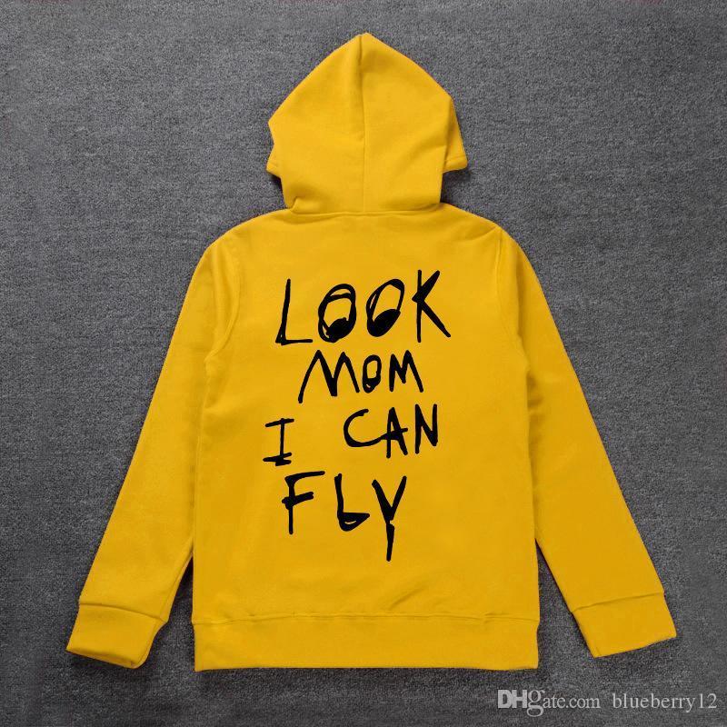 Travis Scott Astroworld Mens Hoodie Fleece Sweatshirts Embroidery Hip Hop Pullover New Hoodies Asian Size S-3XL