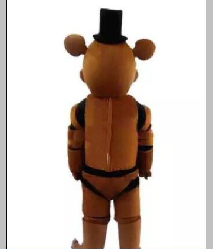 2018 Factory sale hot Five Nights at Freddy's FNAF Freddy Fazbear Mascot Costume Cartoon Mascot Custom Mascot Costume