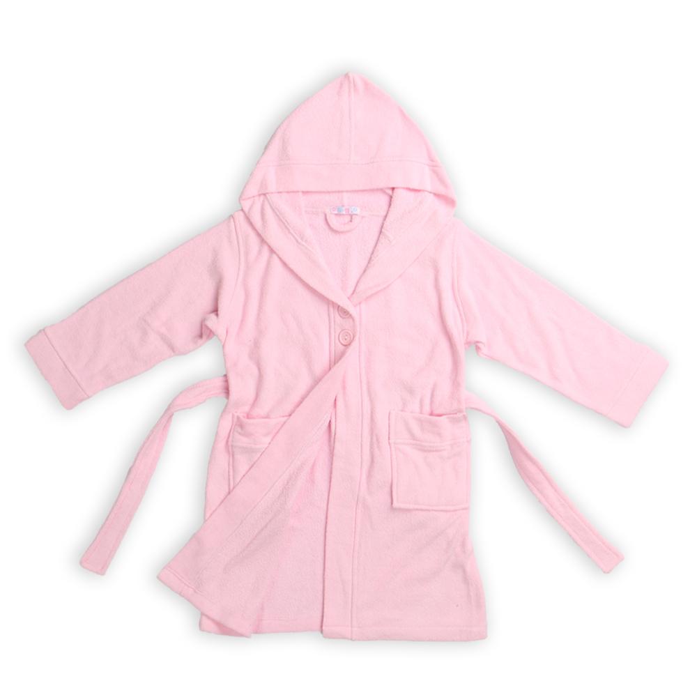 Children Bathrobe Pink (20)