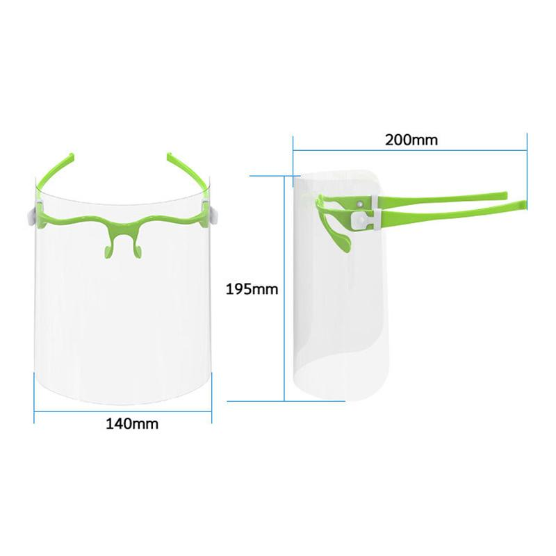 Kitchen Accessories Face Shield Plastic Visor Transparent Food Face Shield Hygiene Safety Face Mask Visor bbynYo homebag