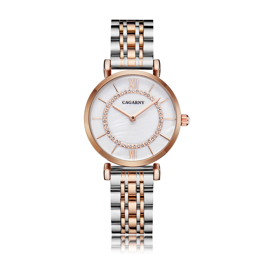 drop shipping shopify rose gold stainless steel bracelet watch for women fashion ladies quartz watches shinning diamonds female clock waterproof free shipping best gifts (5)