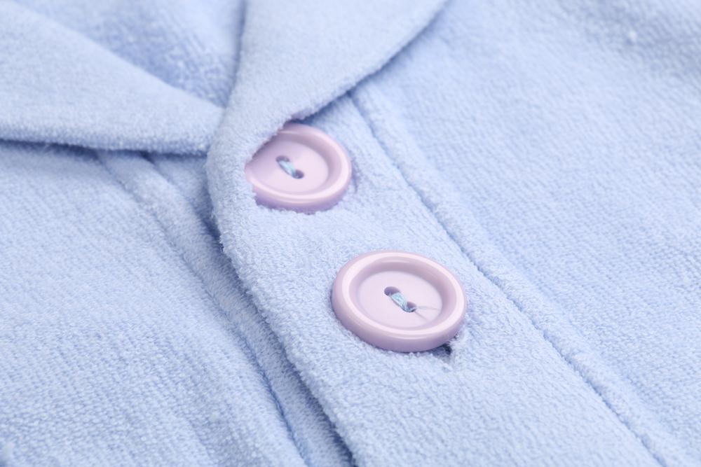 Children Bathrobe Lignt Blue (5)