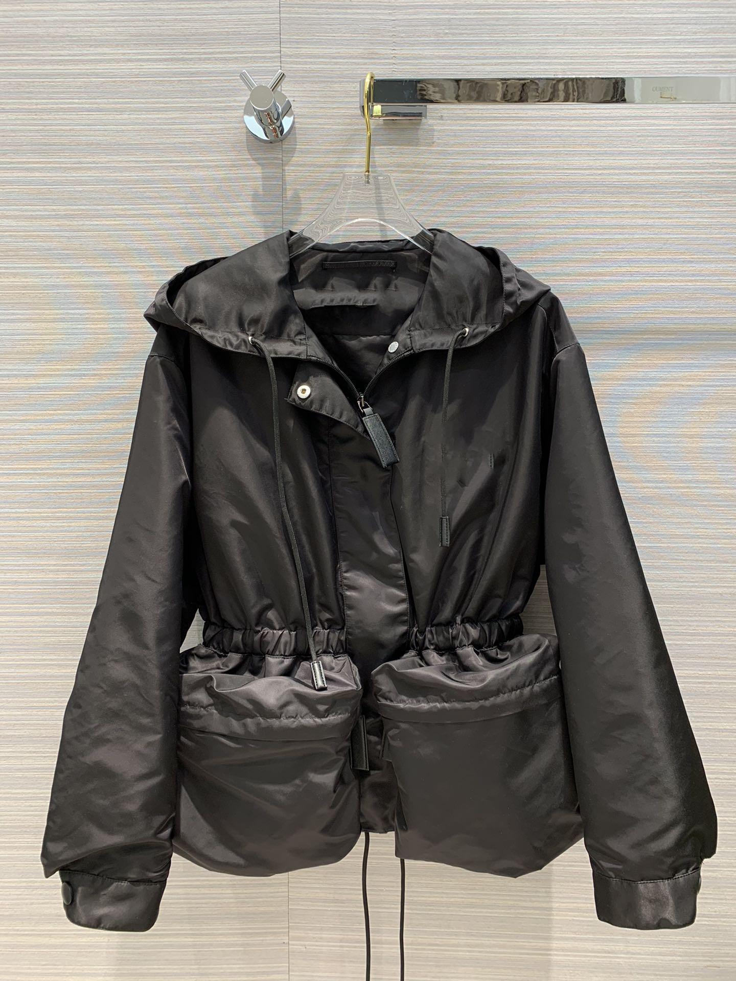 Milan Runway Coats 2020 Hooded Long Sleeve Women's Coats Designer Coats Brand Same Style Jackets 0919-2