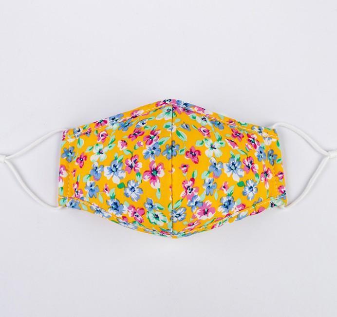 retro flower mask personality flower designer masks dust proof breathable adult cloth masks