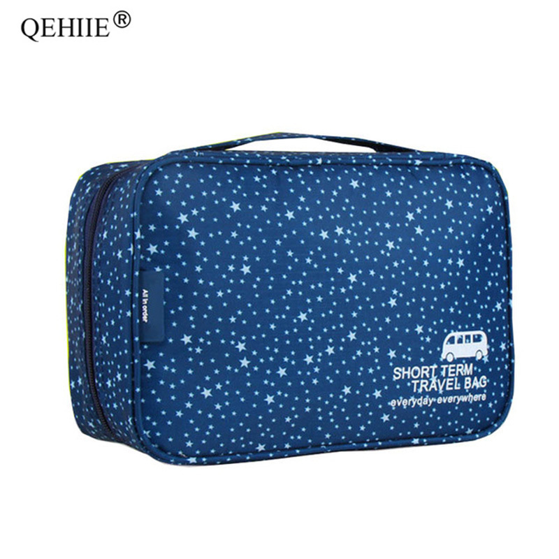 New Multi-functional Cosmetic Bags Woman Make Up Organizer Bag Travel Essential High Capacity Men