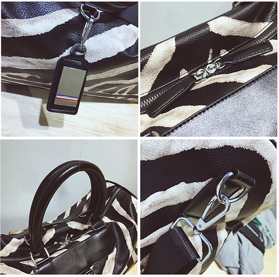 Gym Bag Leather Sports Bags Big Men Women Training Tas for Shoes Lady Fitness Yoga Travel Luggage Shoulder Black Sac De Sport09