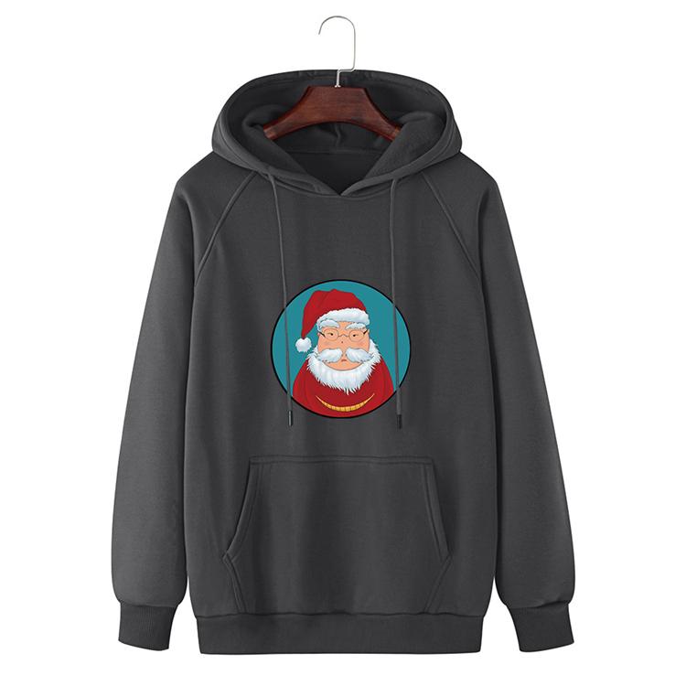 Newest Design Top Sale Custom Logo Printed Hoodie 280Gsm High Quality Christmas Hoodies Sweatshirts