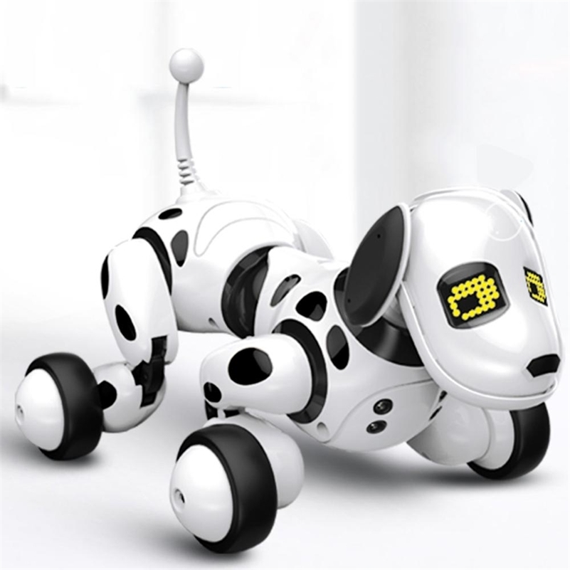 Remote Control Robot Dog Programmable 2.4G Wireless Intelligent Dancing Talking Electronic Pet Educational Gift Toy for children 201212