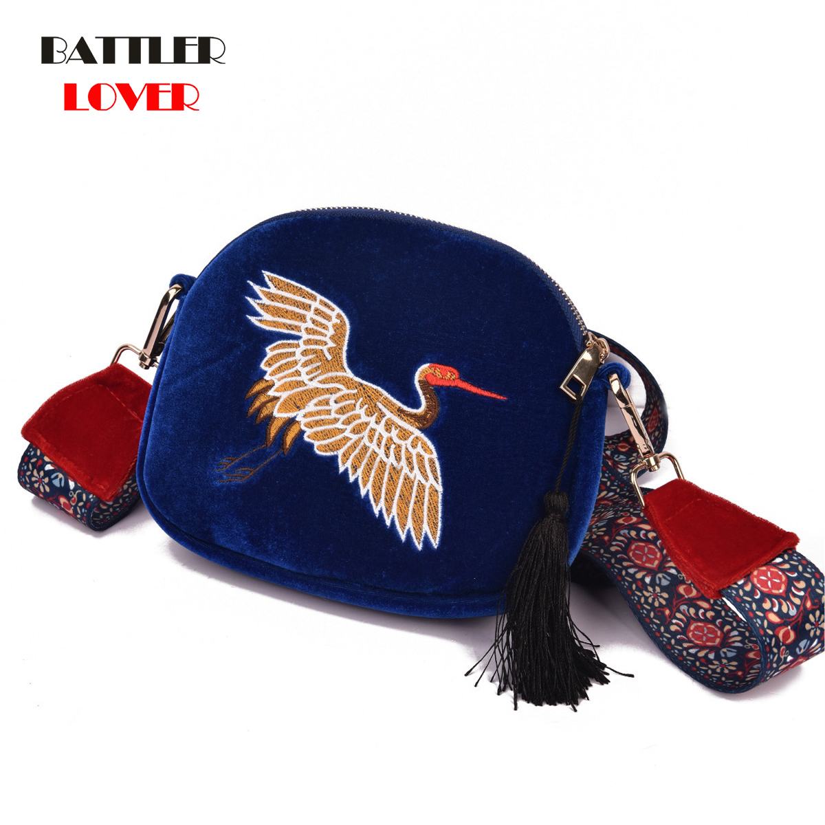 Embroiderry Bags for Women 2019 Bags Women Crossbody Bag Bolsa Feminina Shoulder Messenger Bag Luxury Handbags Womens Designer