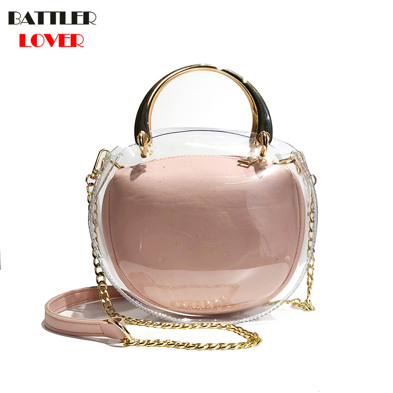 New Womens Bags Summer Handbags Composite Bags Girls Shoulder Messenger Bag Women Bag Mujer PU+PVC Handbag for Women