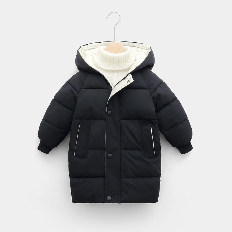 CROAL CHERIE Warm Long Jacket Coat Baby Girls Boys Parka Kids Jacket Hood Winter Children Jacket Winter Fall Toddler Outerwear (5)