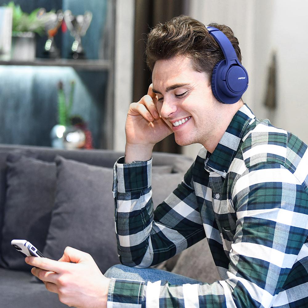 Mpow H7 Bluetooth Headphone PK Sony Bluedio Anker Headphone (7)
