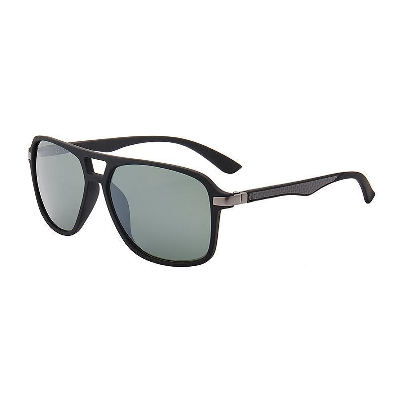 etherh Luxury-High Quality Classic Pilot Sunglasses Designer Brand Mens Womens Sun Glasses Eyewear Gold Metal Green Glass Lenses Brown Cases