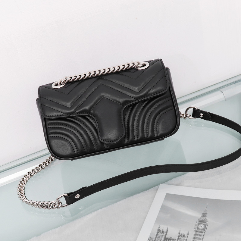 Top Quality Women Shoulder bag silver bag Crossbody Pure color handbag crossbody Messenger tote bag purse wallet