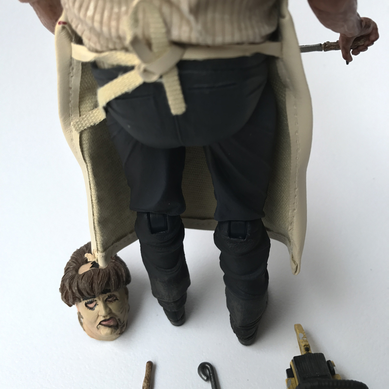 With Led Suit Nightmare On Elm Street Freddy Krueger 3D Jason Friday The 13th Part Leatherface Chainsaw MASSACRE Action Figure (16)