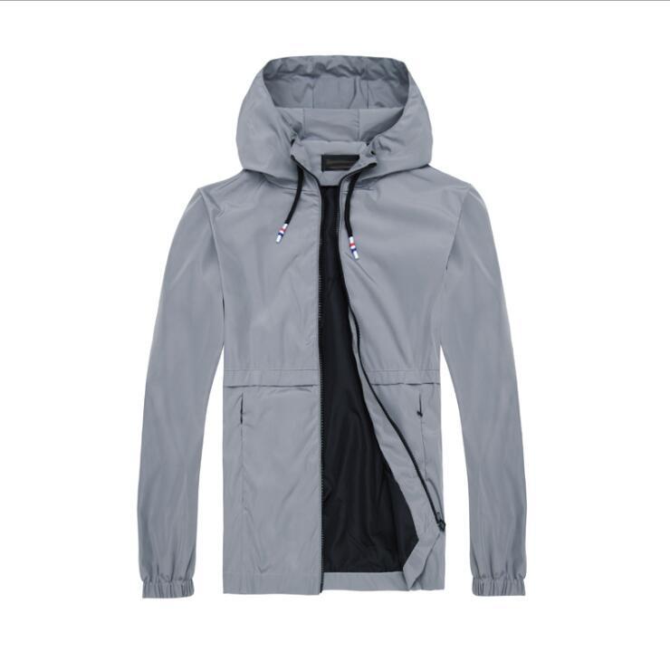 NEW Designer Mens Jacket Coat Autumn Windrunner Jackets Brand Designer Sports Windbreaker Thin Casual Jacket Men women Tops Clothing