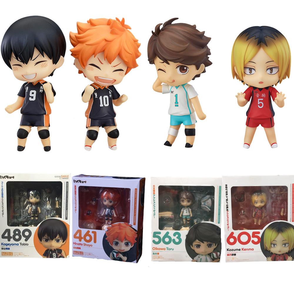 Anime Figure Haikyu Hinata Shoyo #461 Kageyama Tobio #489 Oikawa Tooru #563 Kozume Kenma #605 Cute Action Sport Kids Toys Doll