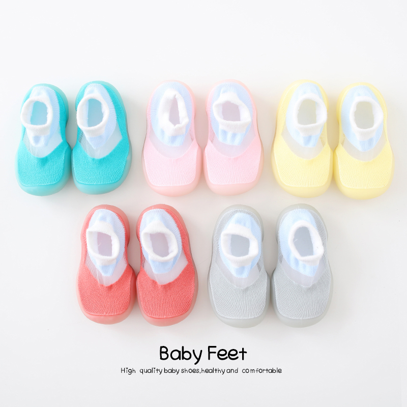 baby sock shoes anti-slip with rubber sole soft cute Floor Socks