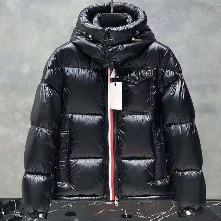 New winter down jacket fashion top White duck down Zippers Thick Warm heating black winter coat mens tracksuit parajumpers down jacket
