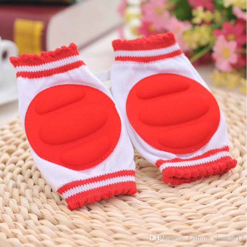Baby Kneepad Cozy Cotton Breathable Sponge Children Knee Pads Learn To Walk Best Protection Crawling Leggings Pad