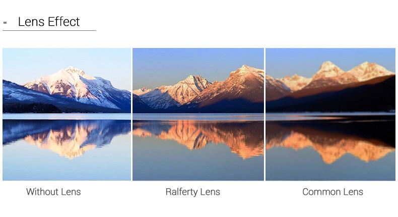 3 lens effect