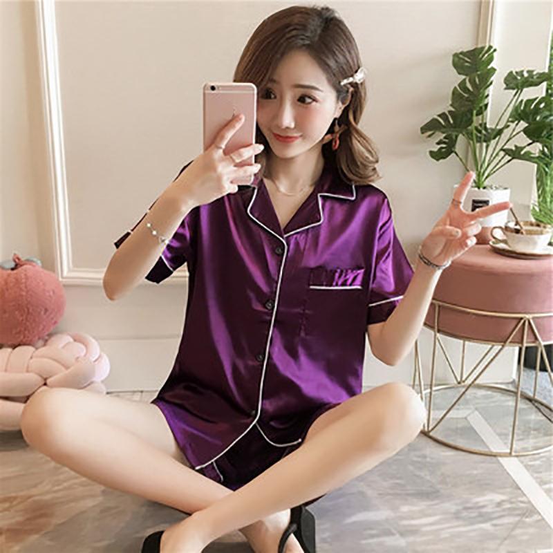 short purple