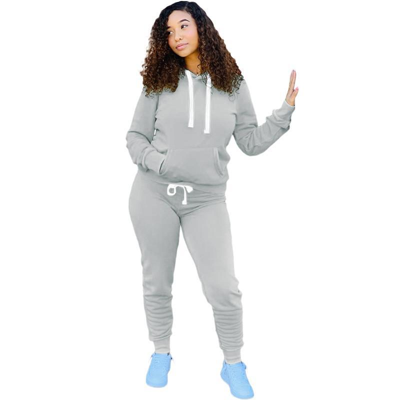 women tracksuit long sleeve outfits shirt pants two piece set skinny shirt tights sport suit pullover pants hot selling klw5829